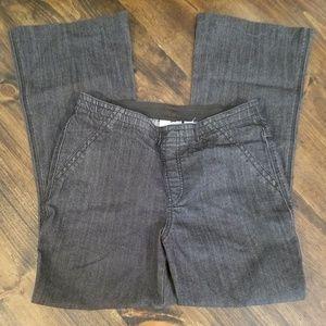 Chico's Platinum dark wash flare jeans Size 8